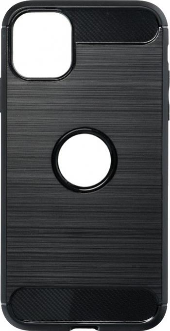 Husa Spate Upzz Carbon Pro Compatibil Cu Iphone 11 Negru Huse Telefoane