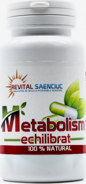 Metabolism echilibrat 120 capsule produs naturist pentru metabolism Revital Saenciuc Vitamine si Suplimente nutritive