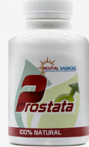 Prostata 60 capsule produs naturist pentru santatea prostatei Revital Saenciuc Vitamine si Suplimente nutritive