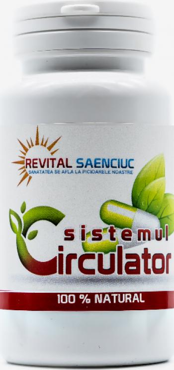Sistem circulator 60 capsule produs naturist pentru afectiuni ale sistemului circulator Revital Saenciuc Vitamine si Suplimente nutritive