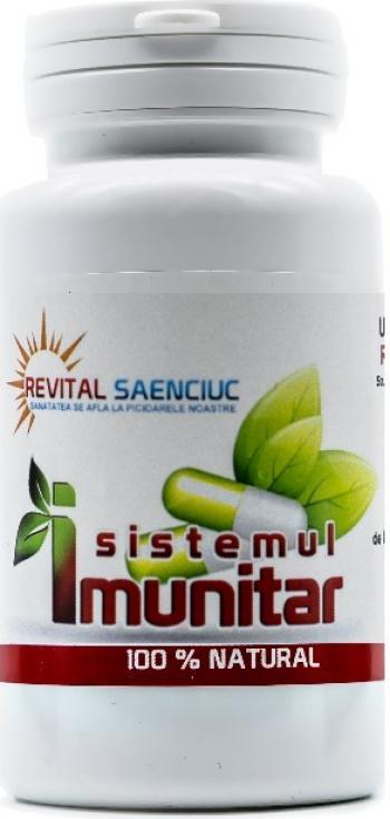 Sistem Imunitar 60 capsule produs naturist pentru imunitate Revital Saenciuc Vitamine si Suplimente nutritive