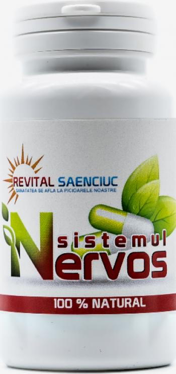 Sistem Nervos 60 capsule supliment naturist Revital Saenciuc Vitamine si Suplimente nutritive