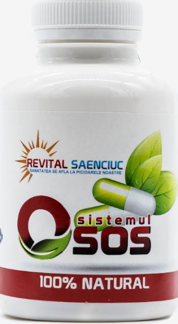 Sistem osos 60 capsule produs naturist pentru oase si articulatii Revital Saenciuc Vitamine si Suplimente nutritive