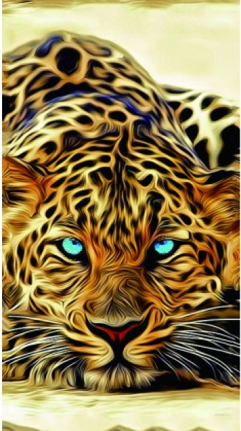 Skin Autocolant 3D Colorful Vivo V1 2015 Back Spate A-1246 Blister Folii Protectie