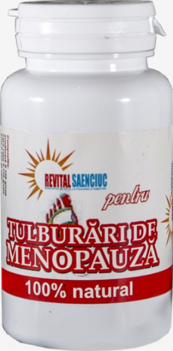 Tulburari de menopauza 60 capsule produs naturist pentru femei Revital Saenciuc Vitamine si Suplimente nutritive