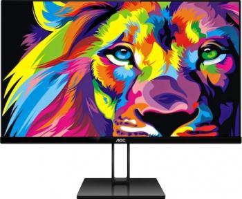 Monitor LED 21.5 AOC 22V2Q Full HD 5ms Negru Monitoare LCD LED
