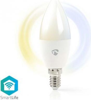 Bec LED Smart WiFi Nedis E14 350 lm 2700 - 6500K Corpuri de iluminat