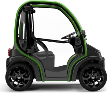 Masina electrica Estrima Biro Winter 44 km/h Produs in Italia Verde Masini electrice