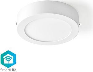 Plafoniera rotunda Smart Wi-Fi Nedis 17 cm 800 lm 12W 2700 - 6500K Corpuri de iluminat