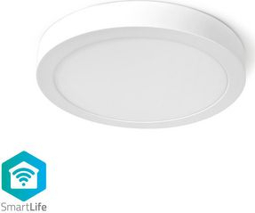 Plafoniera rotunda Smart Wi-Fi Nedis 30 cm 1400 lm 18W 2700 - 6500K Corpuri de iluminat