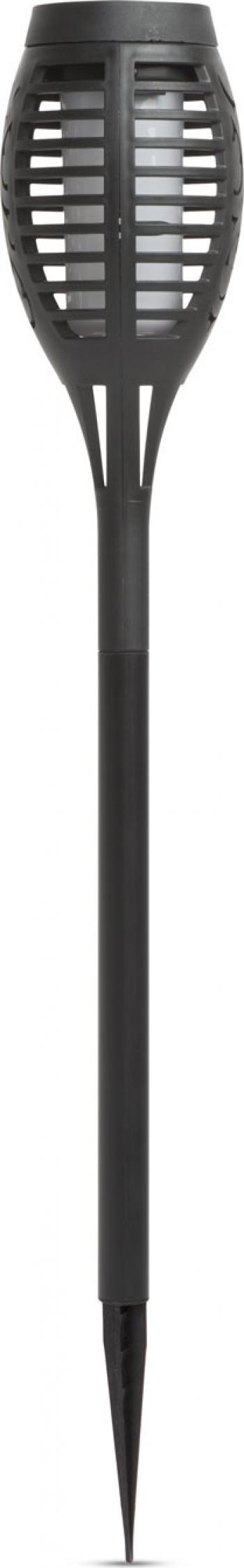 Set 4 buc Lampa Solara LED tip Torta cu Imitatie Flacara Miscatoare Inaltime 48cm Corpuri de iluminat