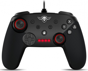Controller Spirit of Gamer SOG-WGPS Nintendo Switch Pro 1.8m Negru