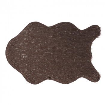 Blana artificiala gri-maro-taupe/argint 60x90 FOX TYP 4 Accesorii mobilier