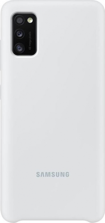 Husa de protectie Samsung pentru Galaxy A41 Silicon White