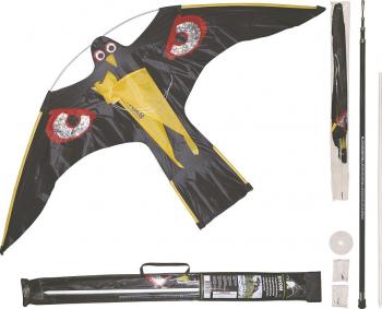 Zmeu Soim cu Dispozitiv Telescopic 4 M - Hawk Kite Birdscarer Votton 1 40 M Impotriva Pasarilor Articole antidaunatori gradina