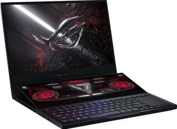 Laptop Gaming ASUS ROG Zephyrus Duo 15 GX551QS Amd Ryzen 9 5900HX 2TB SSD 32GB NVIDIA Geforce RTX 3080 10GB 4K 120Hz Win10 T.Ilum Off Black Laptop laptopuri