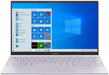 Ultrabook ASUS ZenBook 14 UX425EA Intel Core (11th Gen) i5-1135G7 512GB SSD 8GB Intel Iris Xe FullHD Win10 Tast. ilum. Lilac Mist