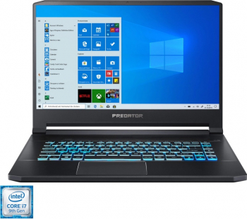 Laptop Gaming Acer Predator Triton 500 PT515-52-769R Intel and reg Core and trade i7-10750H 15.6 and  144Hz 16GB 1TB SSD RTX2070 8GB
