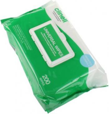 Lavete CLINELL Universal Biocid 200 Buc