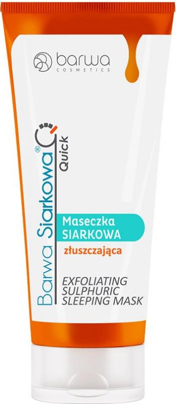 Masca faciala exfolianta cu sulf Barwa 40 ml Masti, exfoliant, tonice