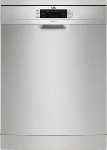 Masina de spalat vase AEG AirDry FFB62700PM 15 Seturi 6 Programe Clasa E 60 cm inox