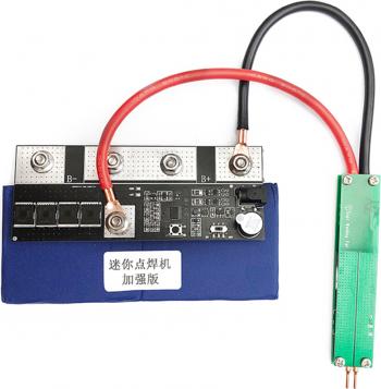 7.4V 400A Baterie spot Welder 18650 baterie Nichel Strip Masina Bricolaj suduri de sudare reglabil 0.25mm Placarea cu Nichel