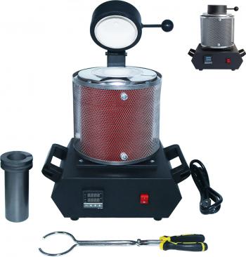 DANIU AC110V / 220V 2100W 3kg aur Cuptor Topire digital Cuptor Topire masina Capacitate de incalzire Casting Rafinare Metale Aur Silve