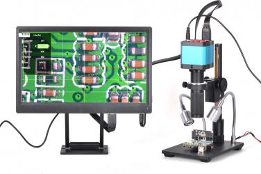 HAYEAR 14 milioane de pixeli Full HD cu ecran color digital Magnifier Microscop 1 / 2.3 inch Electron Micro Digital