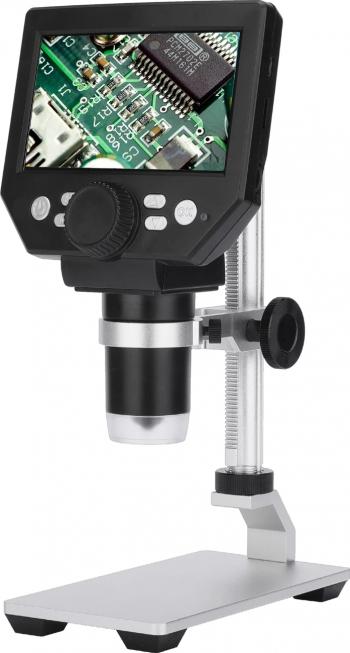 MUSTOOL G1000 portabil 1-1000X HD 8MP Microscop digital 4.3 electronic HD video Microscoape Borescope Lupa telefon mobil
