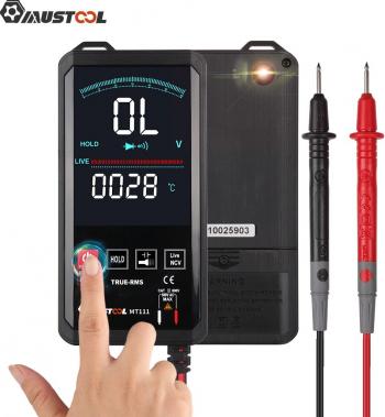 Mustool MT111 Touch Screen Multimetru digital 6000 contilor inteligent de scanare Multimetru digital AC DC Masurarea VCN
