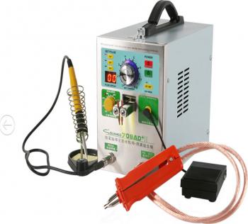 SUNKKO 709AD + 220V 3.2KW Pulse spot Welder masina Baterie spot de lipit masina
