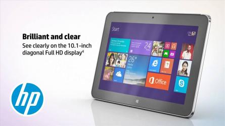 Tableta HP ElitePad 1000 G2 10.1 Full HD IPS Touch Intel Quad Z3795 SSD 64GB Win10 Pro 64 Webcam Laptopuri Renew & Refurbished