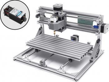 3 Axa Mini DIY Modul Router CNC 2500mW laser de frezat Gravor Masina de gravat Lemn taiat