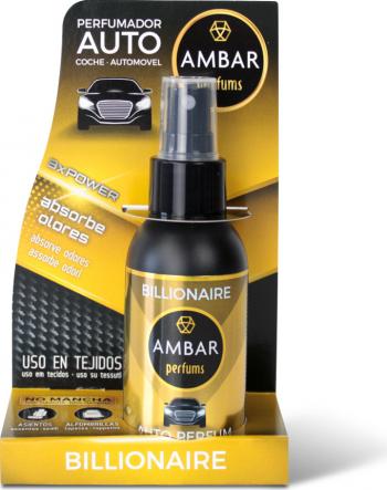 Odorizant auto spray Billionaire 90 ml Cosmetica si Detergenti Auto