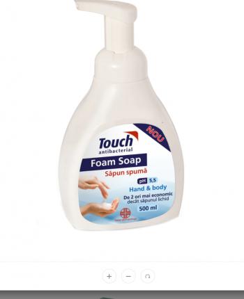 Sapun antibacterian spuma Touch 500 ml Gel antibacterian