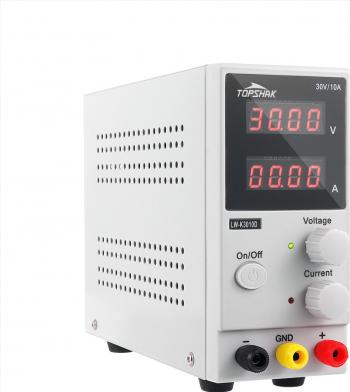 TOPSHAK K3010D 4 cifre Afisaj cu LED 110V / 220V 30V 10A reglabil DC Alimentare switching reglementate Alimentare