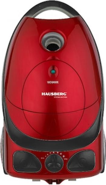Aspirator Cu Sac Hausberg HB-2850NG 1600-2000 W 3L Rosu - Negru