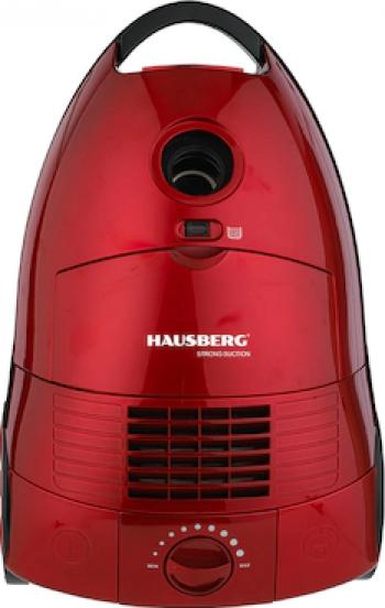Aspirator Cu Sac Hausberg HB-2870RS 1600-2000W Rosu
