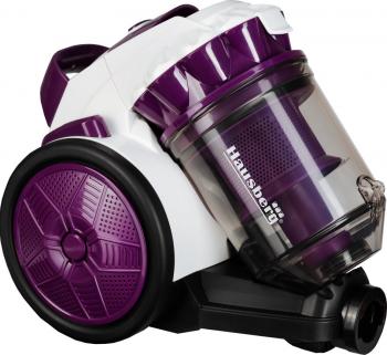 Aspirator fara sac Hausberg HB-2010MV 900 W Capacitate 3L Mov
