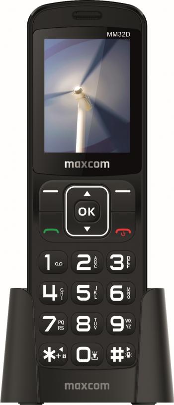Telefon mobil Maxcom Comfort MM732D 2G Negru