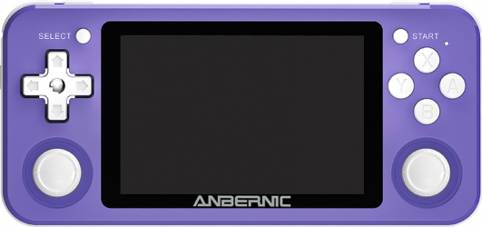 ANBERNIC RG351P 128GB 10000 Jocuri IPS HD Handheld consola de jocuri Suport pt PSP PS1 N64 GBA GBC MD NeoGeo FC Jocuri player 64Bit