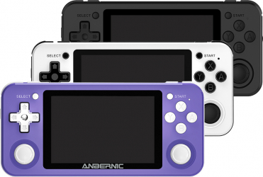 ANBERNIC RG351P 64GB 2500 Jocuri IPS HD Handheld Suport consola de jocuri pt PSP PS1 N64 GBA GBC MD NeoGeo FC Jocuri player 64Bit