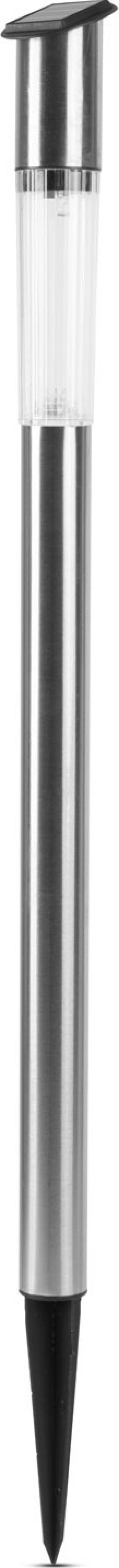 Lampa Solara LED tip Stalpisor Inalt din Metal Satinat Inaltime 70 cm Corpuri de iluminat