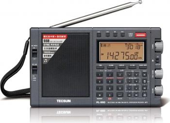 Stereo Tecsun PL-990 FM LW MW SW SSB Radio DSP Digital Computer difuzor Misic player