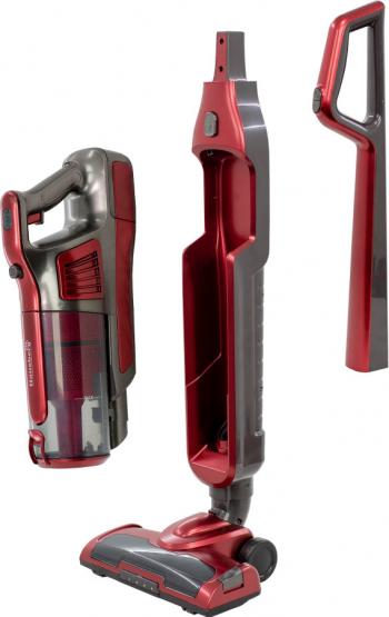 Aspirator Vertical Hausberg HB-2026 120W Rosu - Negru