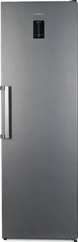 Congelator Heinner HFF-V280NFXF+ No Frost Control electronic 7 sertare Clasa A+ Argintiu