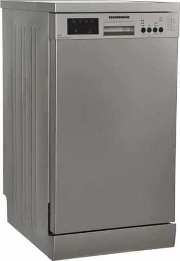 Masina de spalat vase Heinner HDW-FS4506DSE++ 10 Seturi 6 programe Clasa E Aquastop 45 cm Antracit Masini de spalat vase