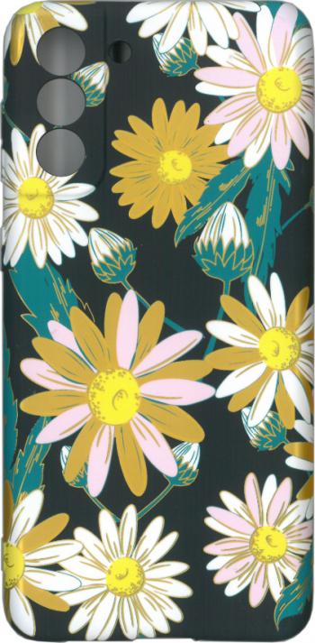 Husa protectie spate cu motiv floral Luxo M11 pentru Samsung Galaxy S21 Plus 5G