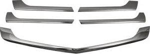 Ornamente inox grila masca fata cromate dedicate Mercedes Sprinter W906 Facelift 2013-2018 Huse si Accesorii