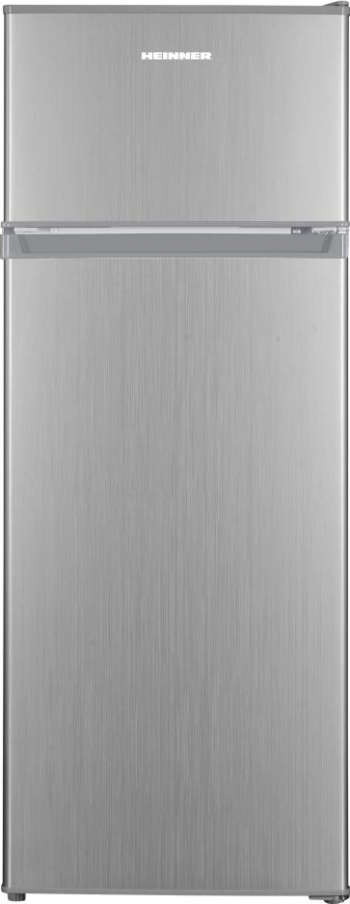 Frigider cu doua usi Heinner HF-H2206SF+ 205L Clasa F Argintiu Frigidere Combine Frigorifice